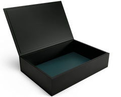 The Bookbox: Leather Box - Black - Magnum
