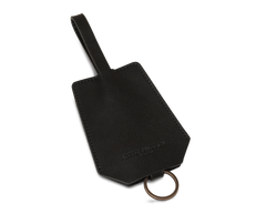 The Keyring: Leather - Black - Short strap (15 cm)