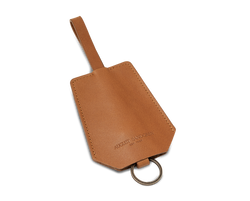 The Keyring: Leather - Cognac - Short strap (15 cm)