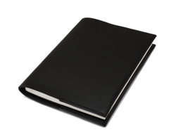 The Notebook: Surplus leather - Black - A5