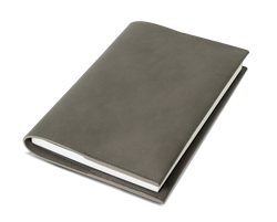 The Notebook: Surplus leather - Grey - A5