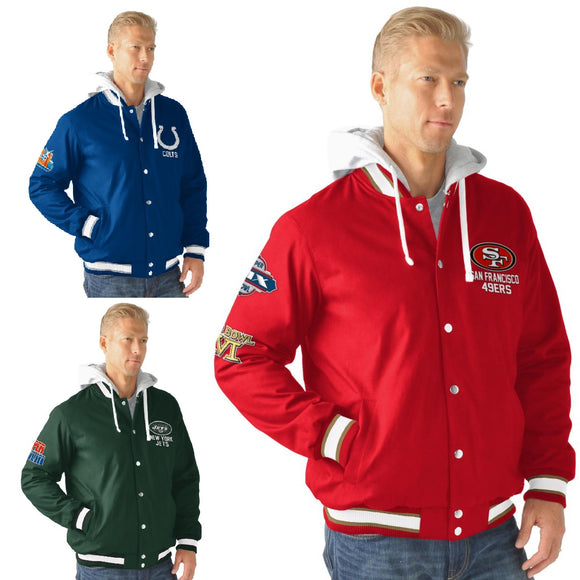 Officially Licensed NFL Double Cross Training Glory Jacket