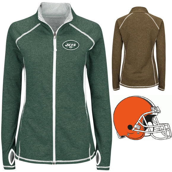 NFL For Her Club Pass Jacket by VF Imagewear - XL, Jets
