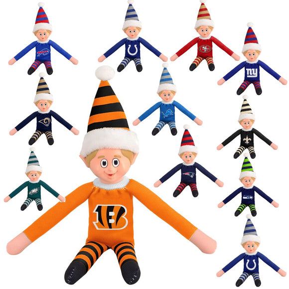 Forever Collectibles Officially Licensed NFL 14-inch Team Elf
