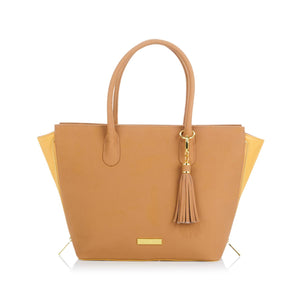JOY & IMAN Fashionably Functional Pop Tote with RFID