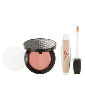 ybf Lip Gloss & Blush Set, Singles Available