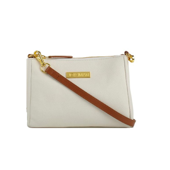 JOY & IMAN Alexandria Leather Crossbody