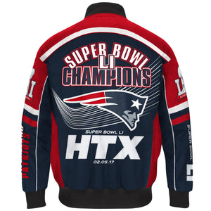 NFL Super Bowl LI Champions Cotton Twill Jacket