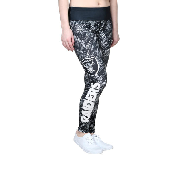 Officially Licensed NFL For Her Rain-Print Legging - L & XL