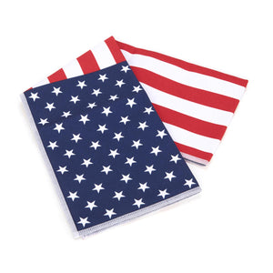 MISSION HydroActive American Flag Cooling Towel
