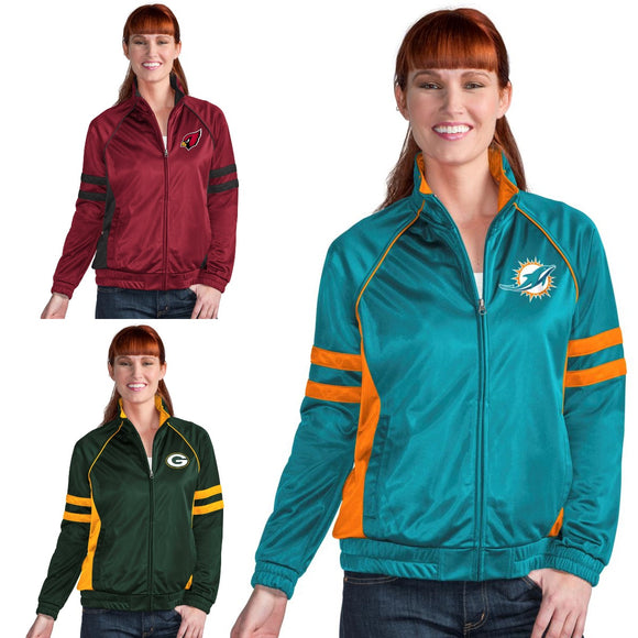 Officially Licensed NFL For Her Legend Track Jacket