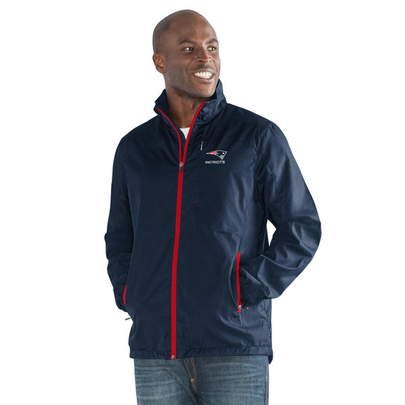 Officially Licensed NFL Movement Full-Zip Packable Jacket - S, Patriots