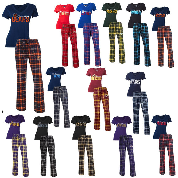 Officially Licensed NFL  For Her Halftime Sleepwear Set