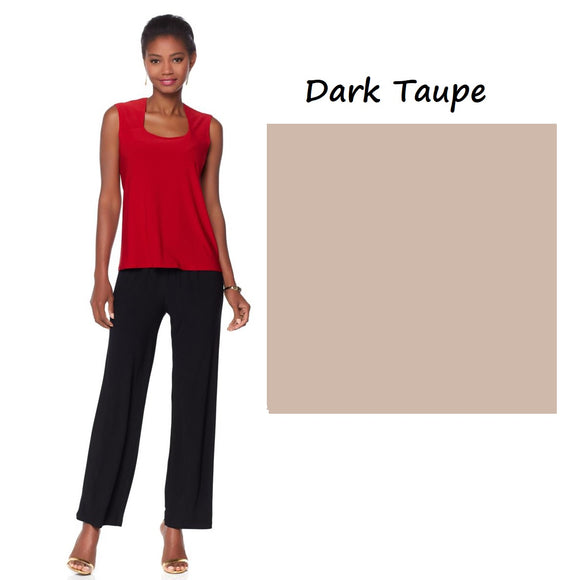 Antthony Classic Tank - XS, Dark Taupe