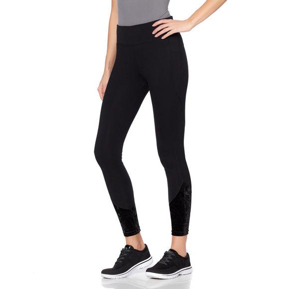 Warrior by Danica Patrick Velvet Detail Legging - Small & Medium