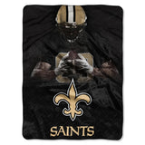 "Officially Licensed NFL 60"" x 80"" Glory Raschel Throw"