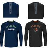 Officially Licensed NFL Fanfare Long-Sleeve Tee by VF Sportswear