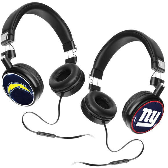 Officially Licensed NFL 4D Logo Headphones