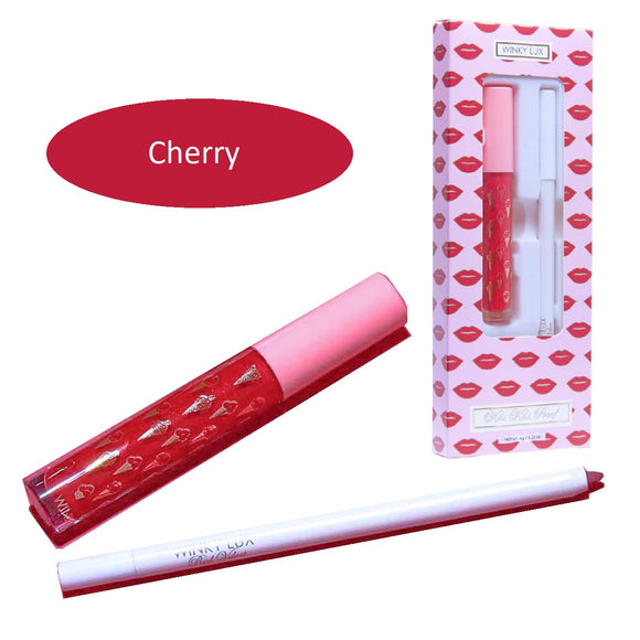 Winky Lux Kiss Kiss Duo Sparkle Cherry
