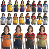 Officially Licensed NFL Women's Fan Club Mesh Tee by Glll