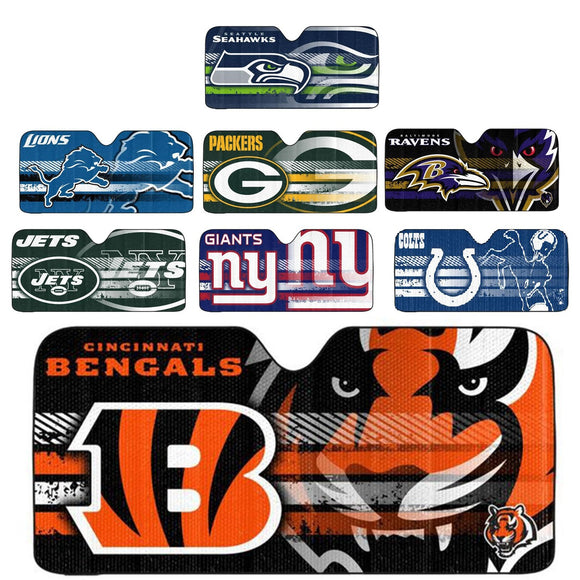 Officially Licensed NFL Auto Sunshade