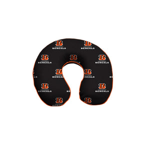 Cincinnati Bengals, Tampa Bay Buccaneers, Indianapolis Colts, Philadelphia Eagles, Atlanta Falcons, Jacksonville Jaguars, New York Jets, Carolina Panthers, New England Patriots, Los Angeles Rams, Houston Texans, Tennessee Titans, Minnesota Vikings Memory Foam Travel Pillow U shaped