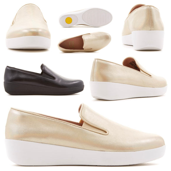 FitFlop Superskate Leather SlipOn Shoe