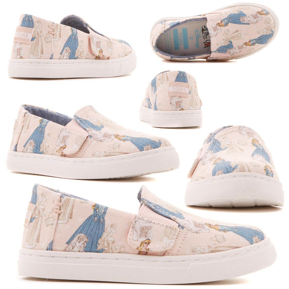 Disney x TOMS Sleeping Beauty Tiny Luca Slip-On