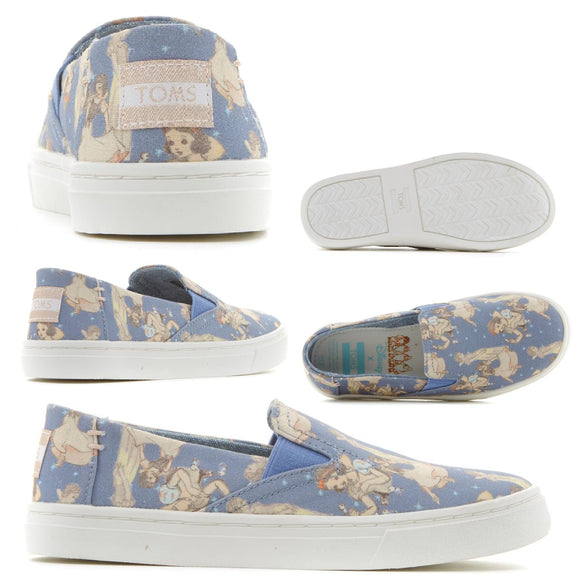 Disney x TOMS Snow White Youth Luca Slip-On