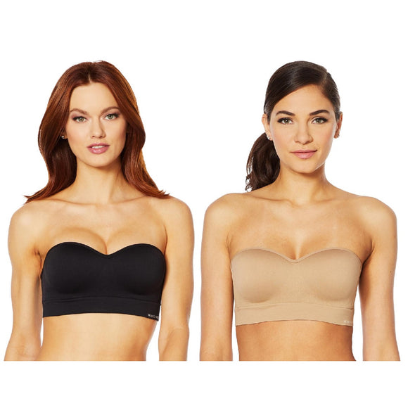 Nearly Nude Seamless Bra with Optional Straps