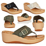 CLOUDSTEPPERS™ by Clarks Step Cali Sail Wedge Sandal