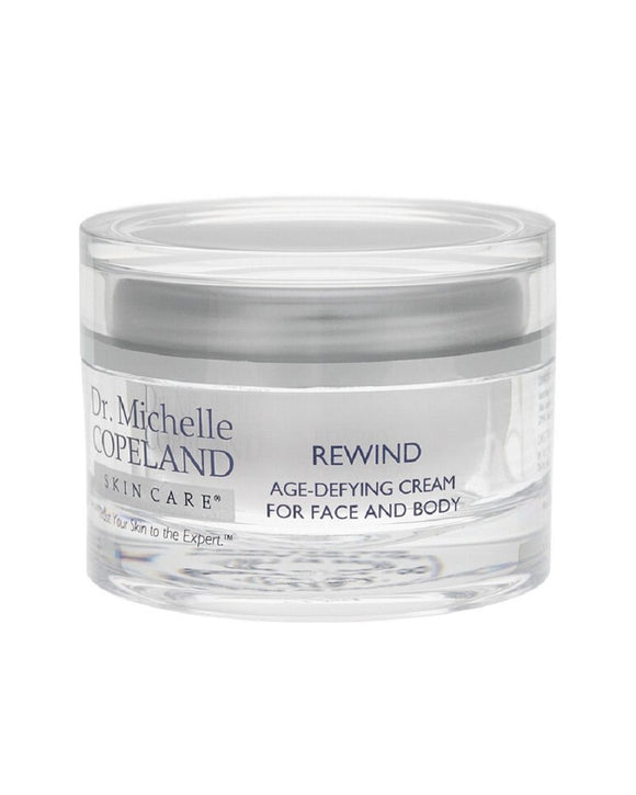 Dr. Michelle Copeland Rewind Age-Defying Cream for Face and Body 48.5ml 1.7 fl.oz.
