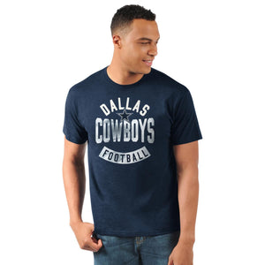 Officially Licensed NFL Men's Logo Short-Sleeve Tee by Glll-Dallas Cowboys