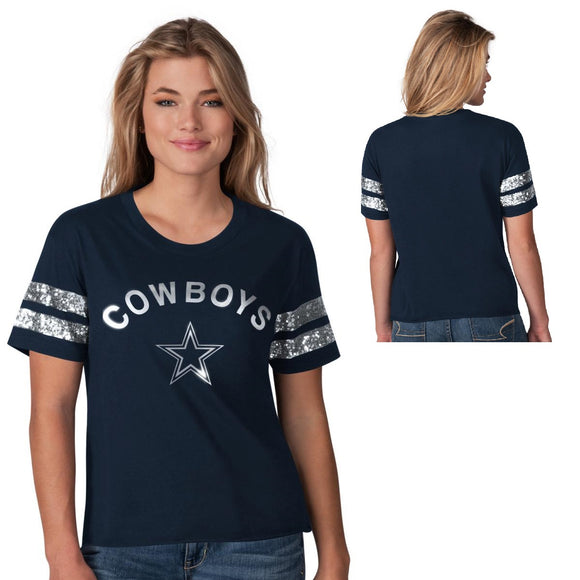 Officially Licensed NFL Big Game Short-Sleeve Tee by Glll-Dallas Cowboys