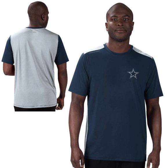 MSX by Michael Strahan Men's NFL Performance Tee by Glll-Dallas Cowboys