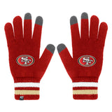 Officially Licensed NFL Jumble Knit Gloves by '47 Brand