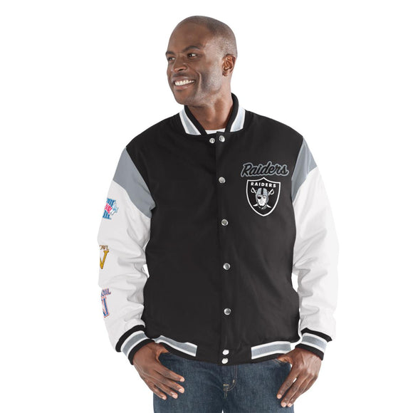 Officially Licensed NFL Commemorative Jacket - 2XL, Raiders