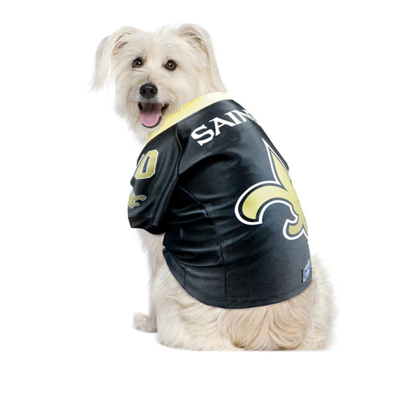 Officially Licensed NFL Premium Mesh Pet Jersey - XL, Saints
