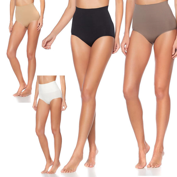 Nearly Nude Shaping Solutions Contour Brief