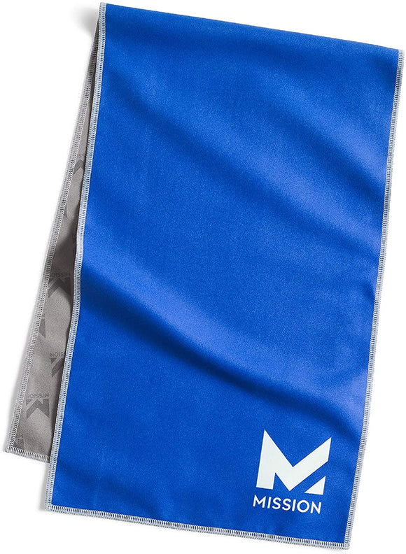 "Mission Original Cooling Towel- Evaporative Cool Technology, 10"" x 33"""