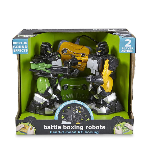 The Black Series Radio Controlled Battle Boxing Robots
