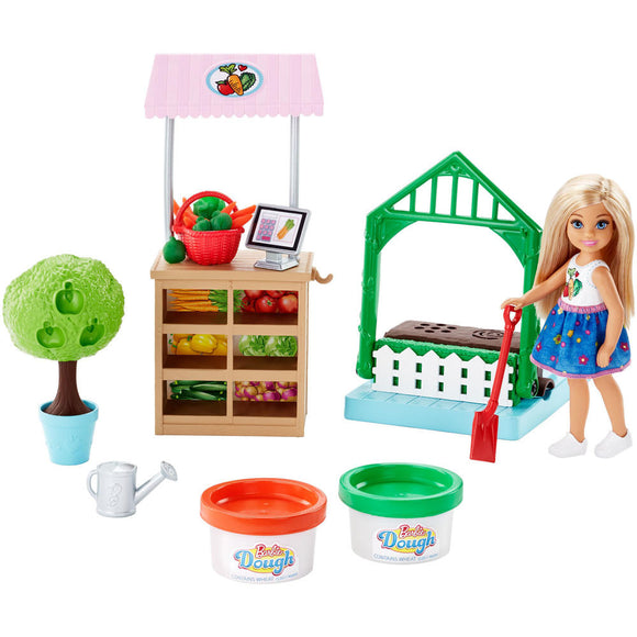 Barbie Chelsea Veggie Garden/ Dough Play Set