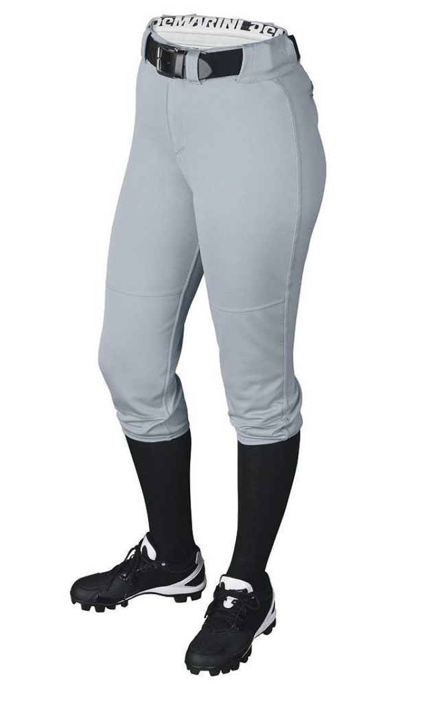 Demarini Fierce women's 3/4 Pants Large (Grey)