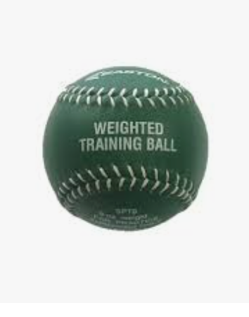 Easton Weighted Training ball (green) 9oz Softball