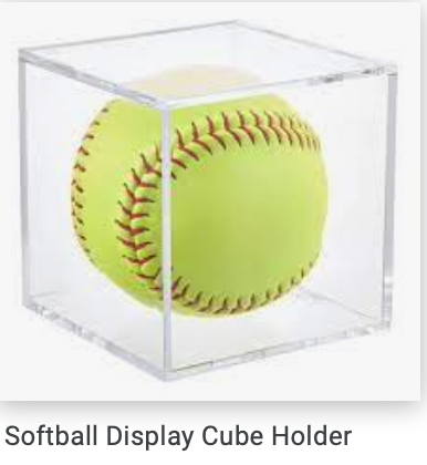 Softball display Holder 12""