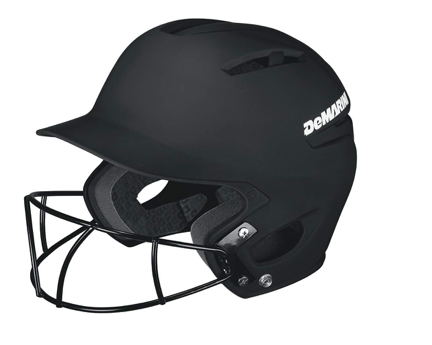 Demarini Paradox Pro with softball mask