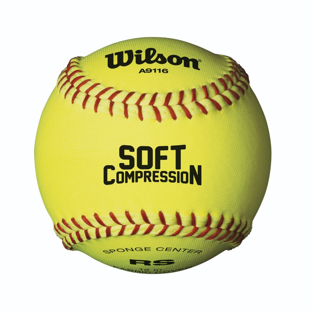 "Wilson 12"" Compression Softballs"