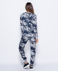 Parisian Camouflage Co Ord Loungewear Set