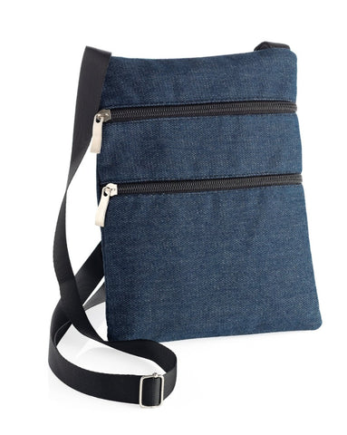 Denim Pocket Heart Bag