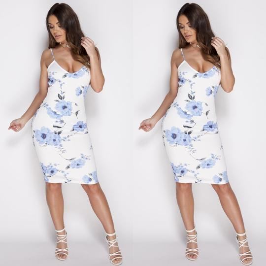 Floral printed Bodycon Cami Dress